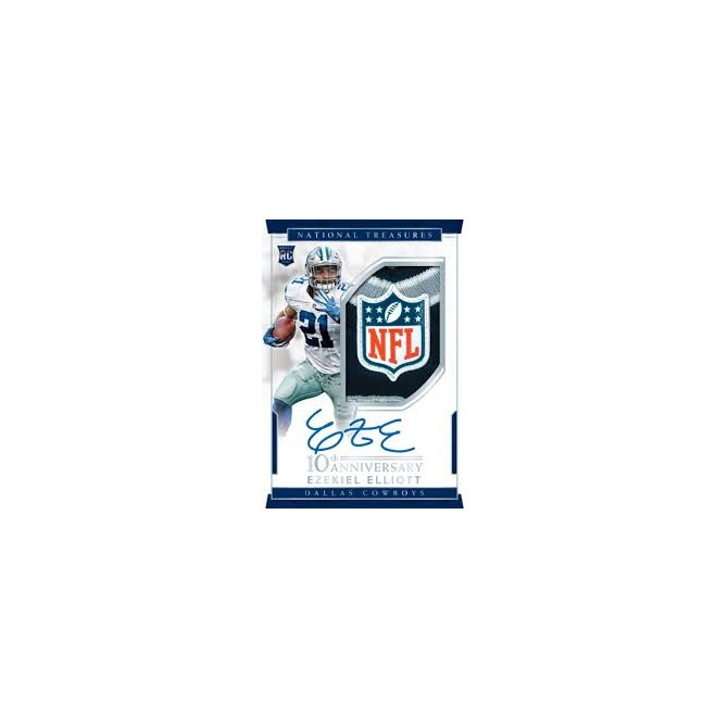 2016 National Treasures Football Half Case Random Teams #12